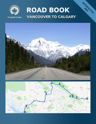 Road Book Vancouver to Calgary Canada