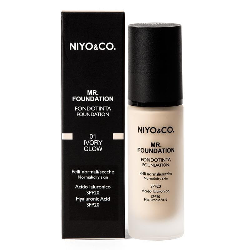 FONDOTINTA LIQUIDO MR.FOUNDATION N.01 IVORY