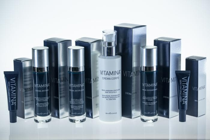 VITAMINA®  CREMA CORPO CON BREVETTO CROSS-LINKING