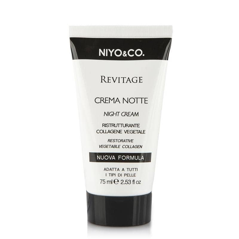 REVITAGE CREMA NOTTE RISTRUTTURANTE 75ML  HAMAMELIS - COLLAGENE VEGETALE - NIYO&CO