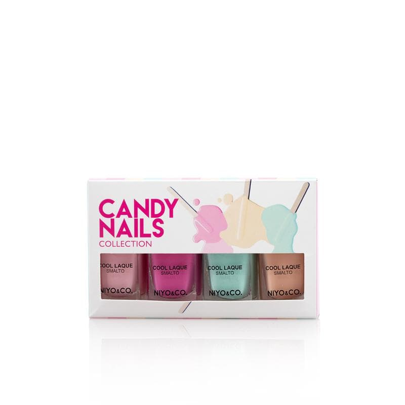 KIT 4 SMALTI CANDY NAIL 5free