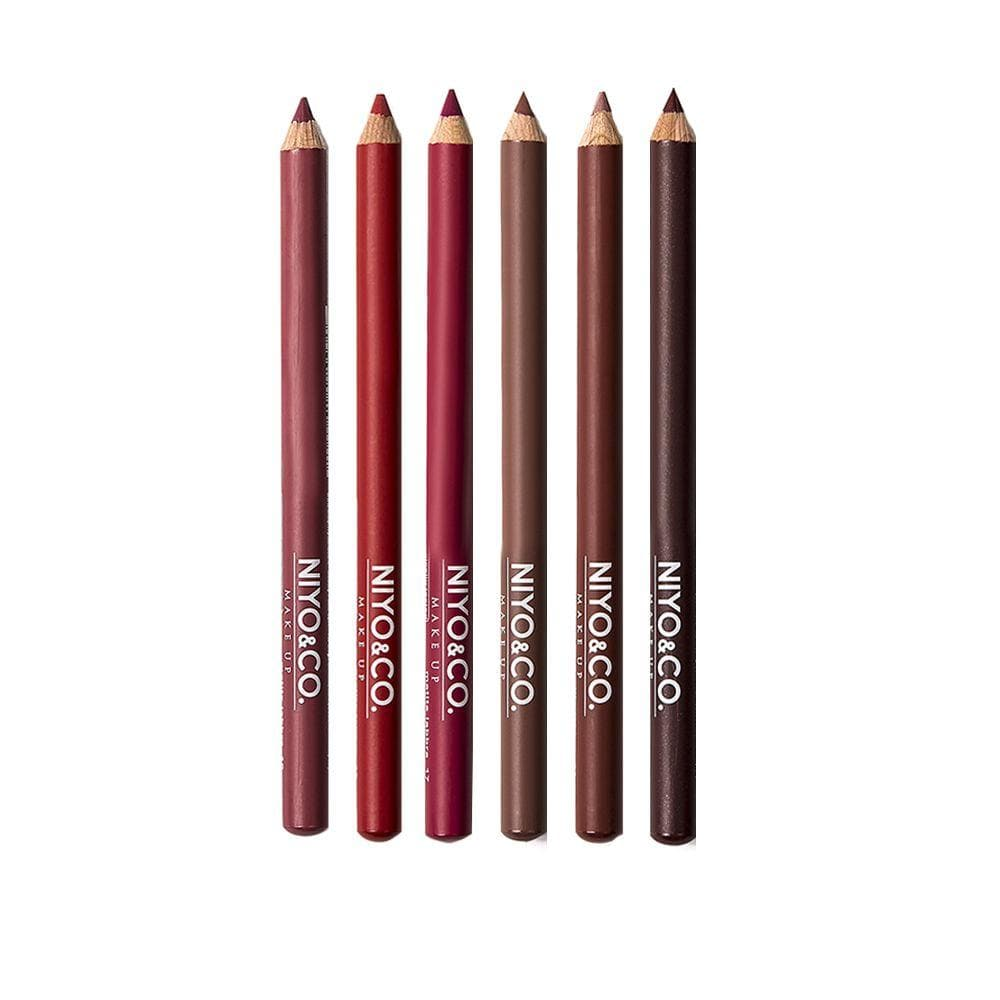 KIT LIP PENCIL BEAUTY KISS - Xmas Pack 6 pezzi