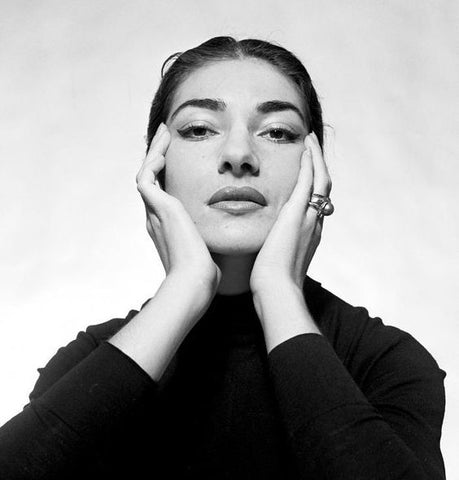 Beauty Icon Maria Callas - Trending 2020 on annamornerart - free shipping