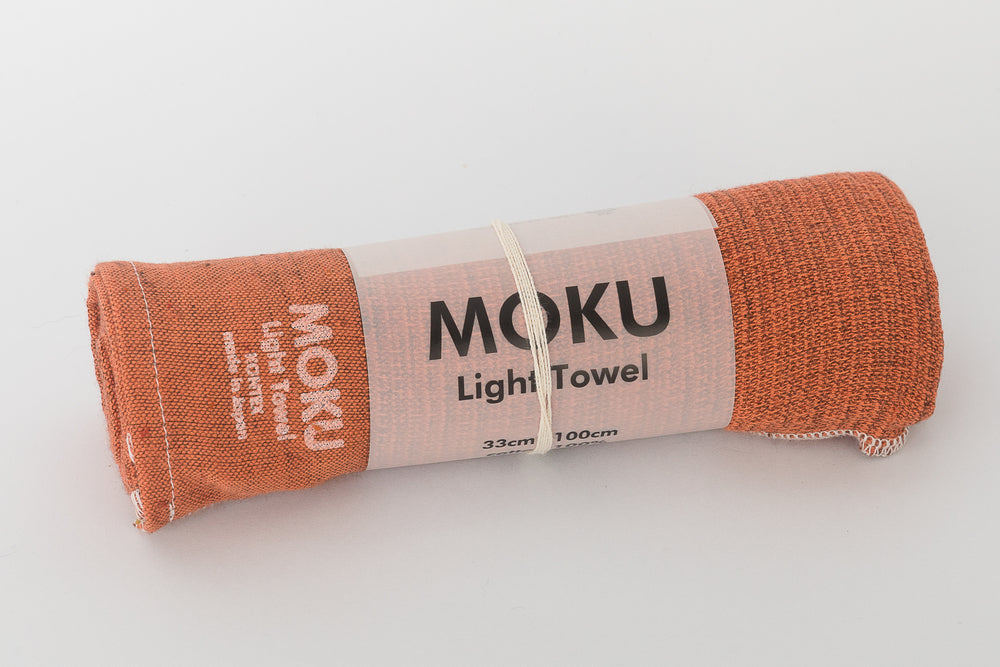 Orange Moku Towel