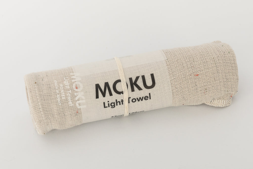 Cream Moku Towel