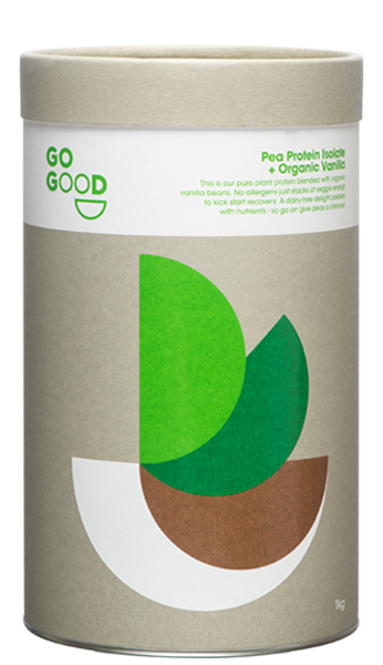 Go Good Organic Vanilla Plant Protein Isolate - Vegan