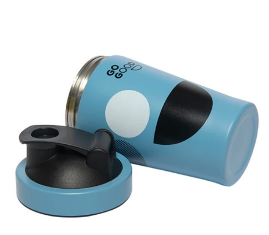 Stainless Steel Shaker - Blue