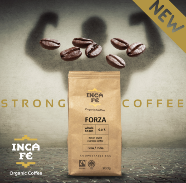 IncaFe Forza Coffee with Tin
