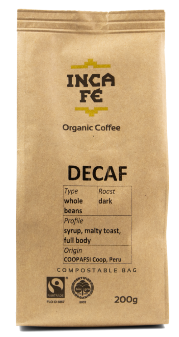 Incafe Decaf Coffee with Tin