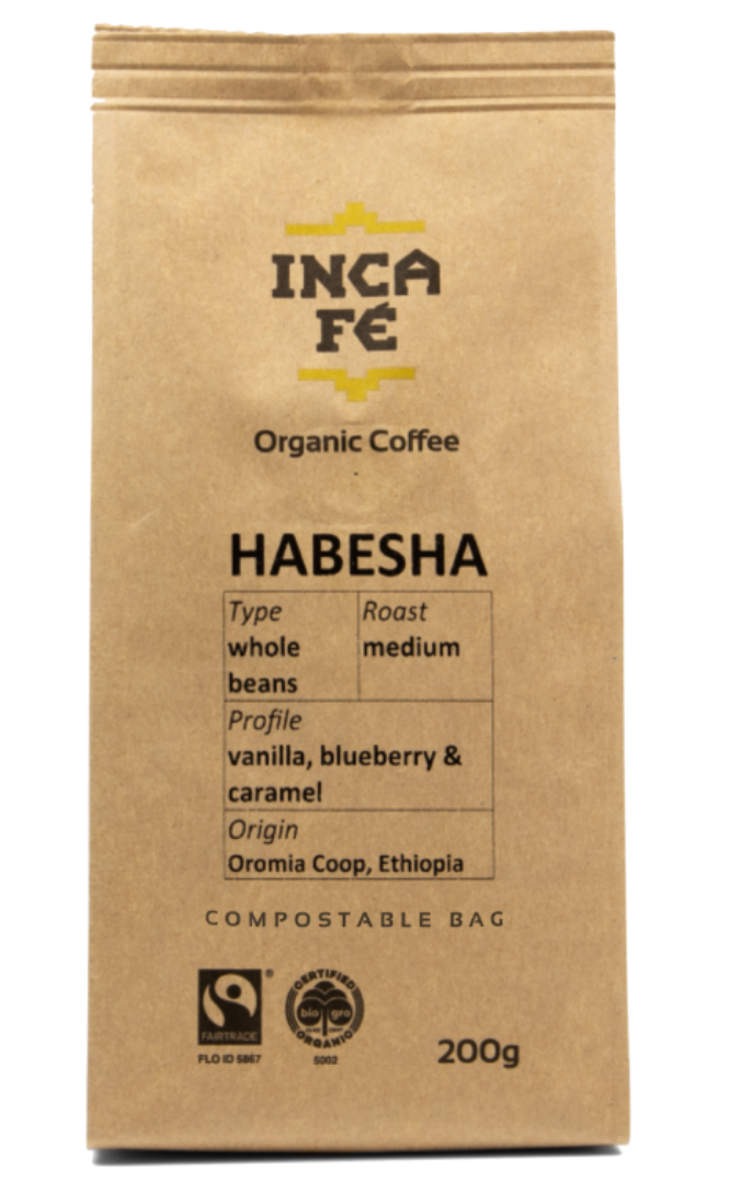 Incafe Habesha Coffee with Tin