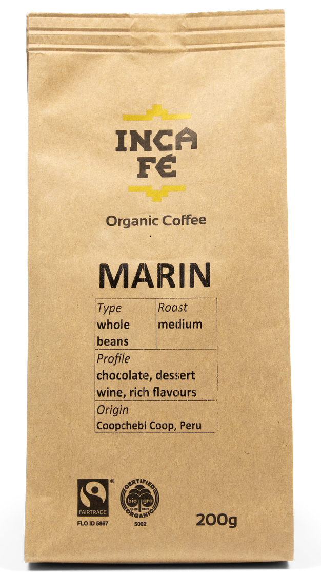 Incafe Marin Coffee with Tin