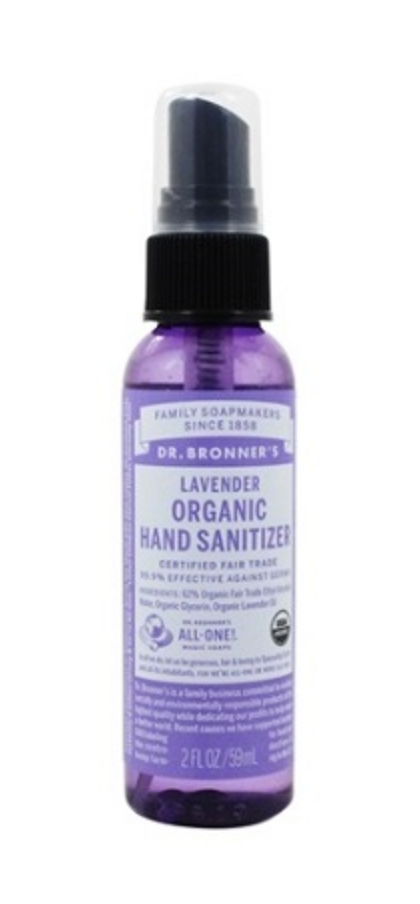 Dr Bronners Lavender Hand Sanitizer 59ml