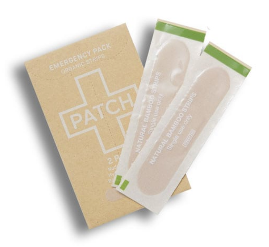 PATCH Natural Bamboo Plasters Strips 2 Pack