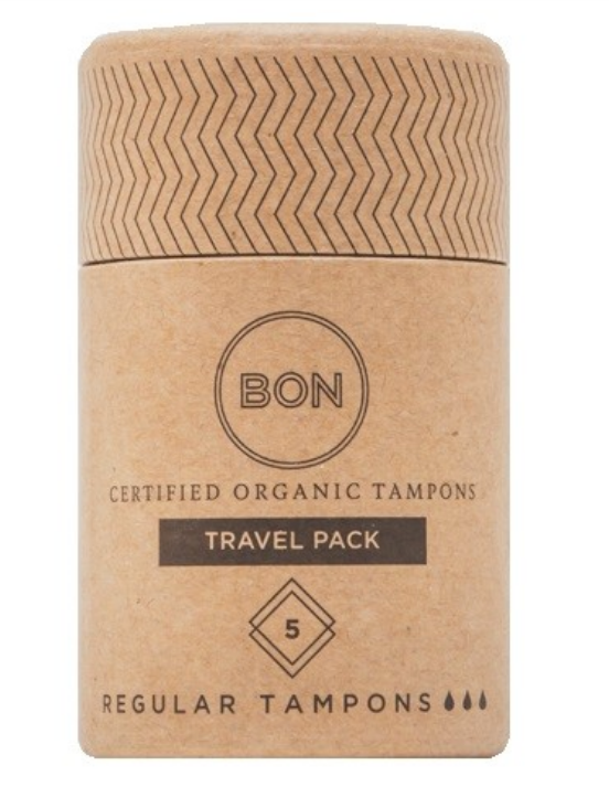 BON Organic Tampons 5 – Travel Pack