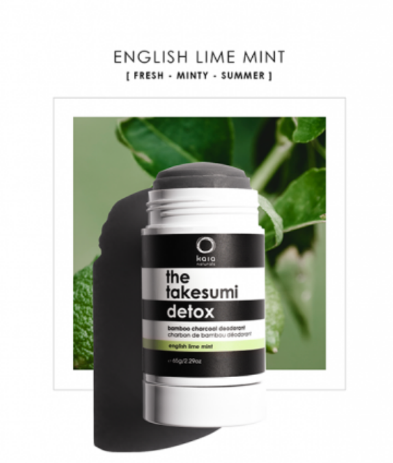 Kaia Naturals English Lime Mint Deodorant