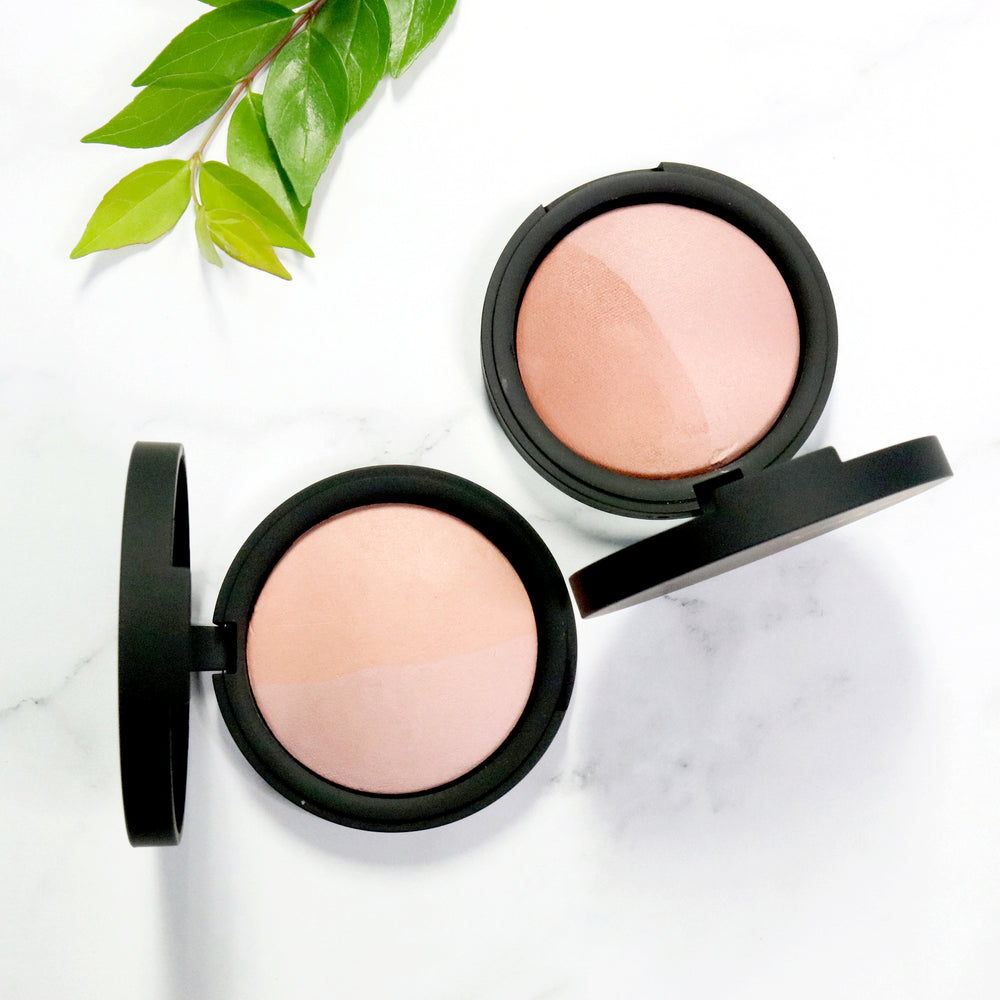 Baked Mineral Blush Duo - Pink Tickle