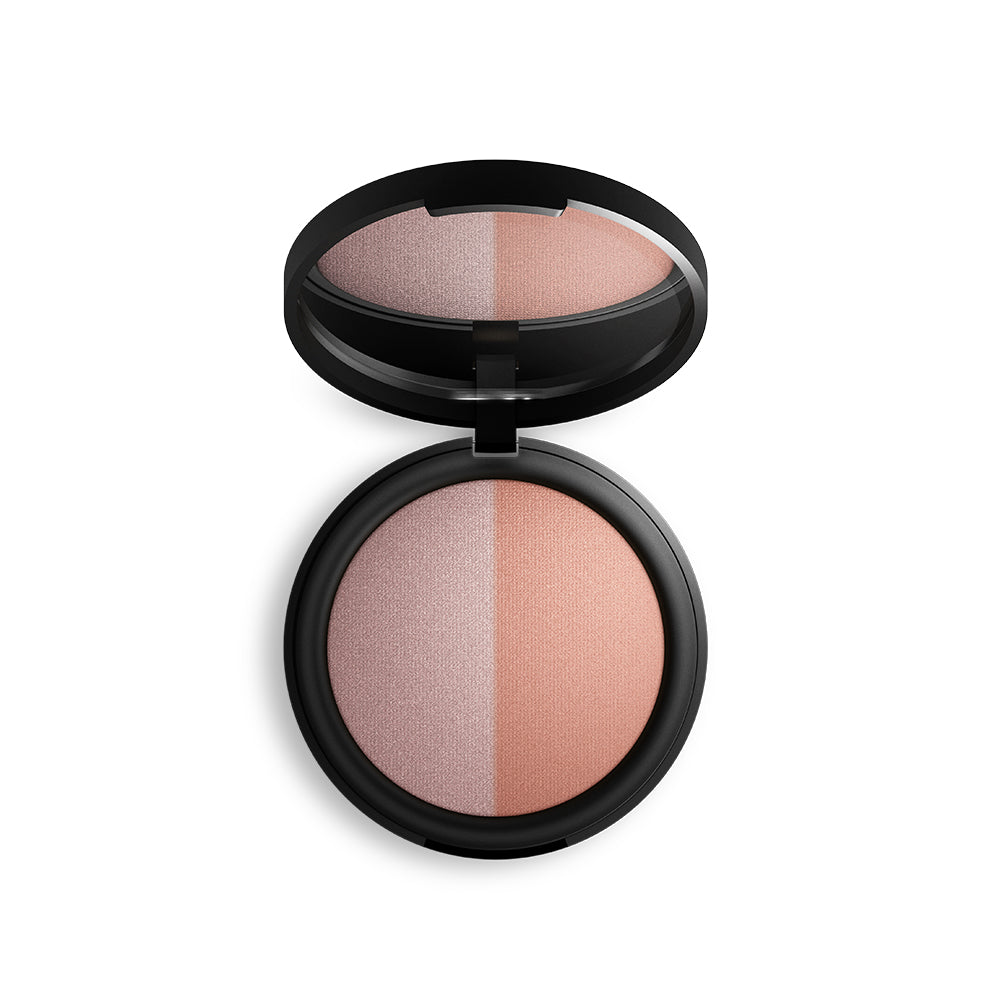 Inika Baked Mineral Blush Duo - Pink Tickle