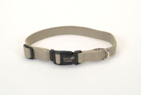 Coastal New Earth® Soy Dog Collar Olive