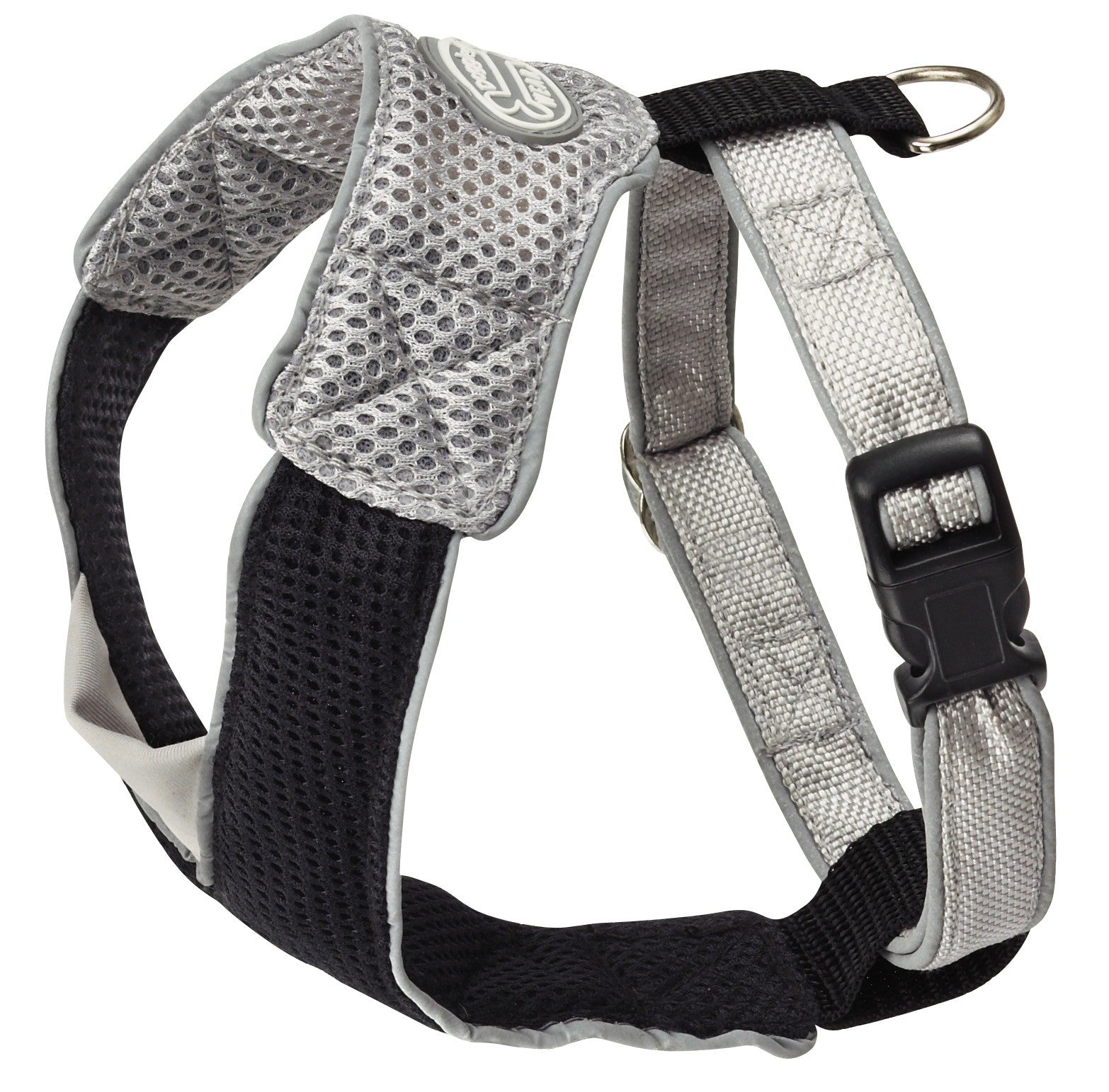 Harness V Mesh in Black/Grey