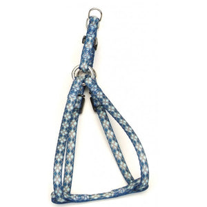 Li'l Pals Blue Argyle Adj. Harness