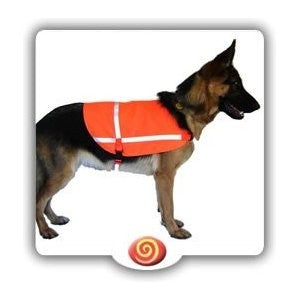 Reflective Safety Dog Jackets-Orange