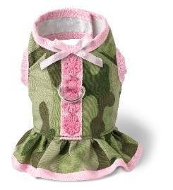 Pretty Dress Harness Green Camo