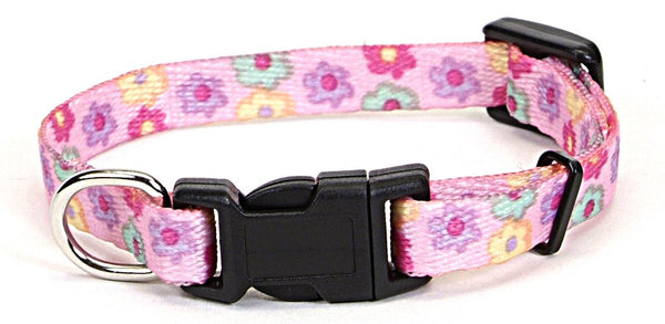 Li'l Pals Pink Daisy Multi Dog Collars