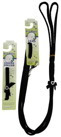 Lil Pals Velvety Heart Jewel Dog Lead