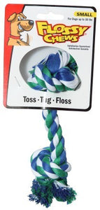 Flossy Chew Dog Tug Toy - Small