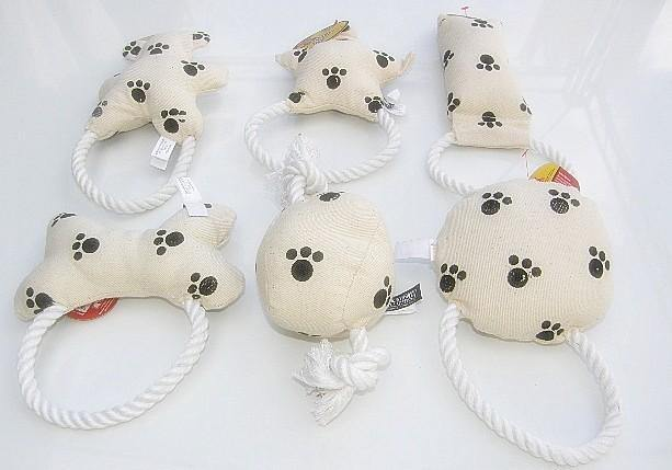 Canvas Dog Toys - Asstd