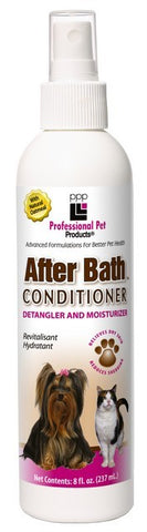 PPP After Bath Dog Coat Spray Conditioner with Oatmeal