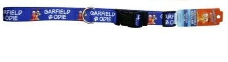 Garfield Adjustable Dog  Collar 15mm