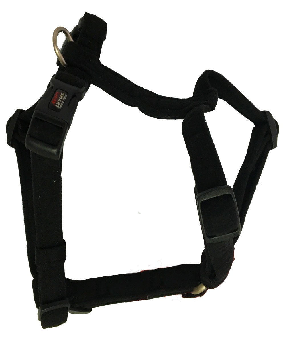 Dog Gone NanoSuede Harness  Black