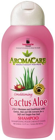 Dog Shampoo and Conditioner (2-in-1)  AromaCare Aloe