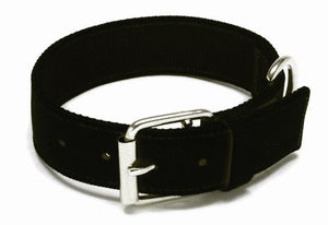 Macho Dog Collar Black- 37mm