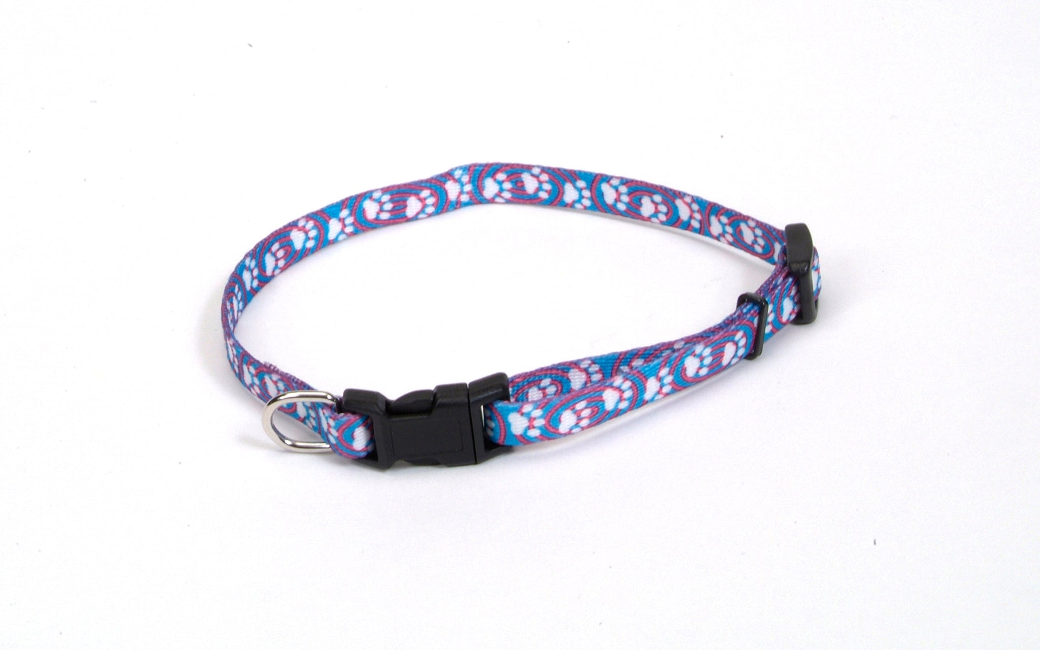 Li'l Pals Blue Paws Dog Collars