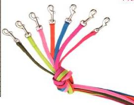 Sunburst 180cm Braided Leads for small dogs