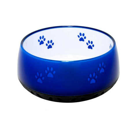 Dog Resin Bowls Blue
