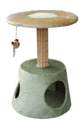Cat Scratch Post with Home