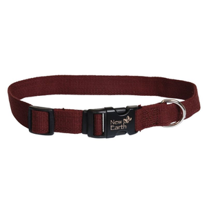 Coastal New Earth® Soy Dog Collar Chocolate