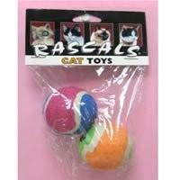Cat Play Balls - Pack of Two