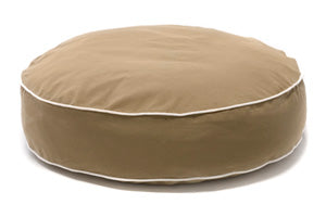 Dog Gone Smart Bed Round Khaki