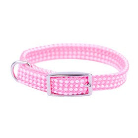 Sunburst Braided Two Tone Dog Collars