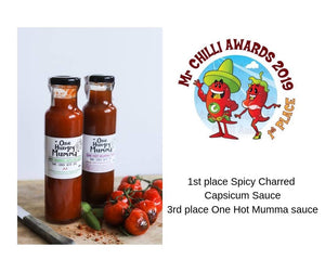 Prize Winning Spicy Charred Capsicum Sauce