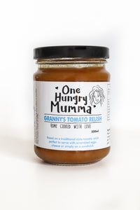 Granny's Tomato Relish - Actually don't tell Granny but we suspect it's better