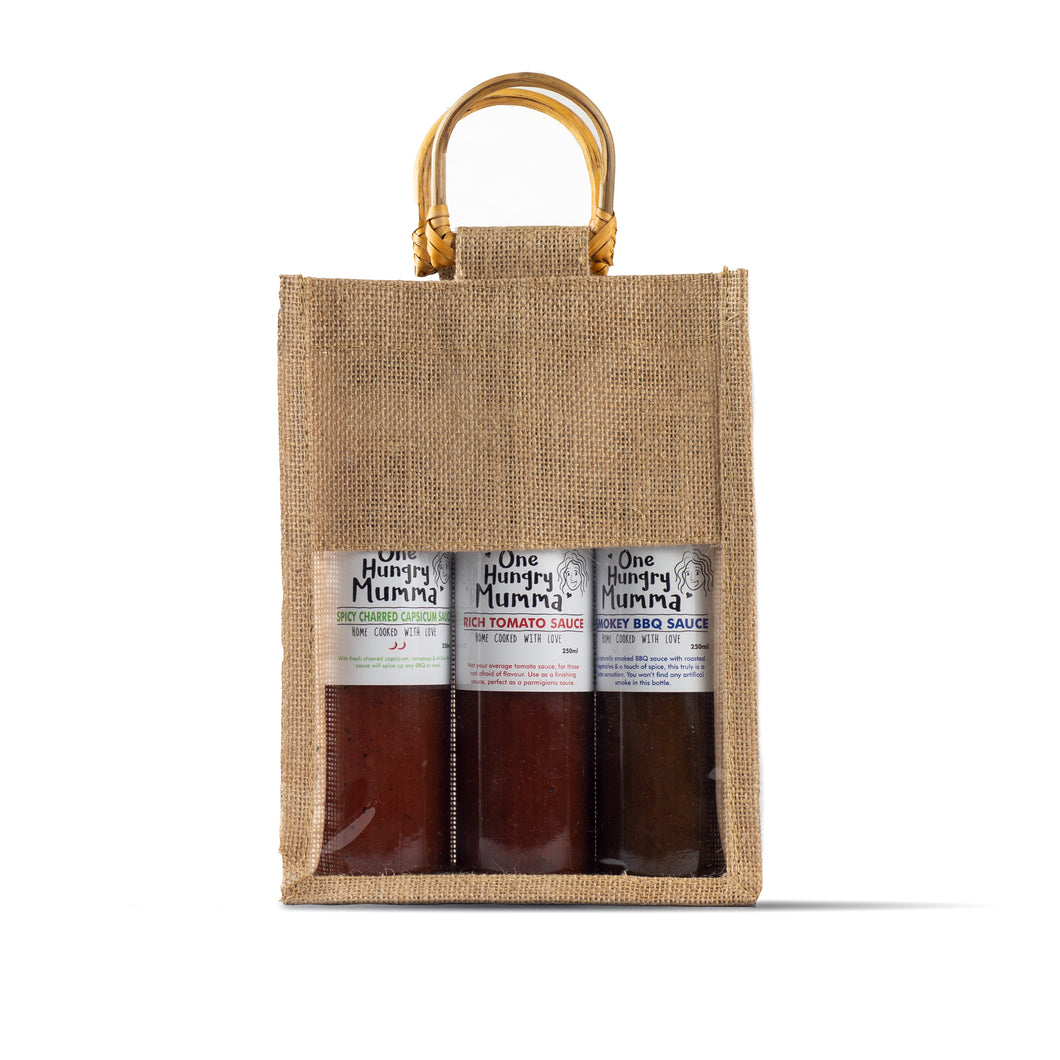 3 Sauce Condiment Bag - Mild