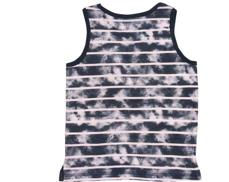 Navy and White Tank Top BearCamp Kids clothing brand kidsbal boys clothing boutique boys fashion