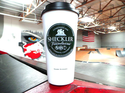 Sheckler Foundation 16 oz Reusable Coffee Cup