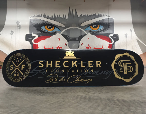 NEW Sheckler Foundation skate deck