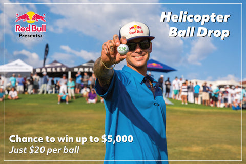 Enter 2018 Red Bull Helicopter Golf Ball Drop!